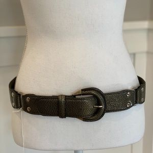 Tod's patent leather belt